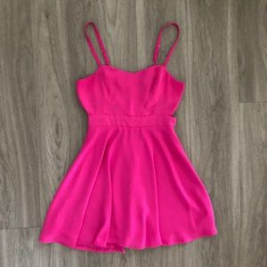 Lucy Love Pink Mini Dress Small